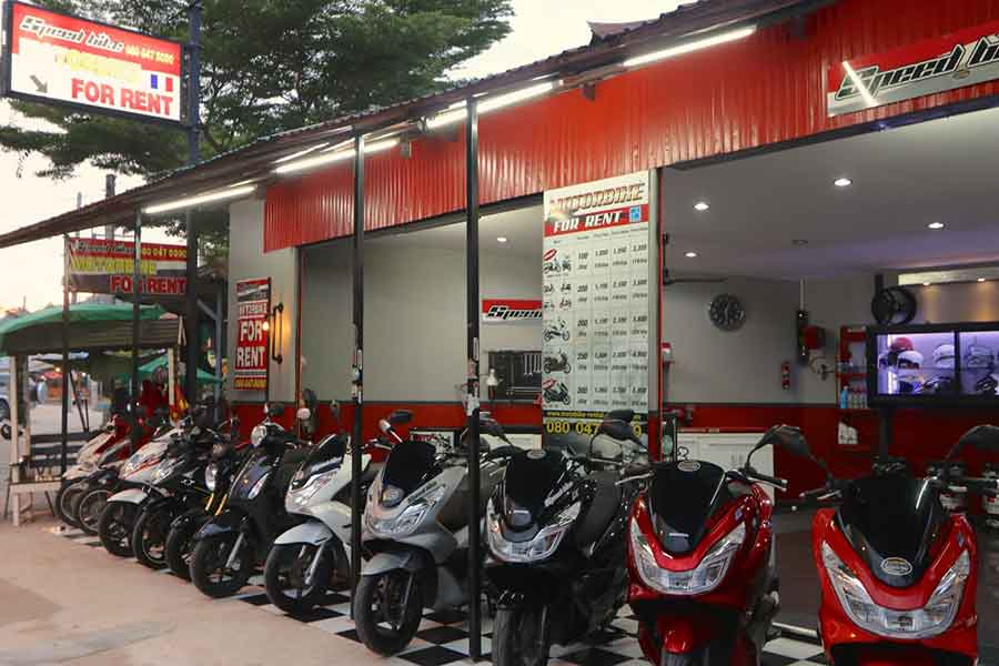 a wide range of high quality motorbikes to rent